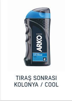 ARKO TRAŞ KOLONYASI 250 ML COOL